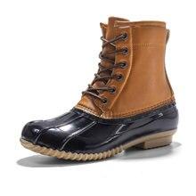 Женские ботинки женские водонепроницаемые на резиновой подошве