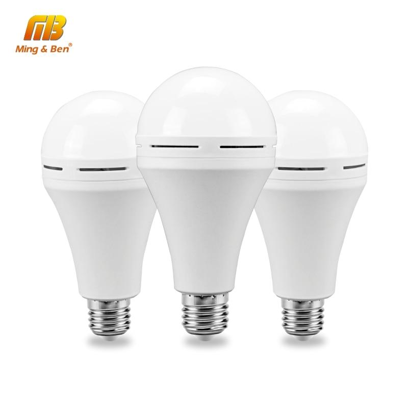 LED Emergency Light 110V 220V 7W 9W 12W Cold White LED Bulb Rechargeable Battery Lighting Lamp For Outdoor Bombillas Flashlight
