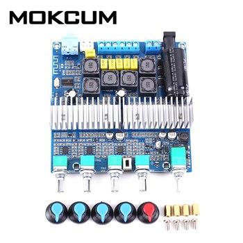 TPA3116 Bluetooth 5,0 estéreo 2,1 Subwoofer módulo amplificador de doble canal receptor de Audio 50W + 50W + 100W 24V DC 12V