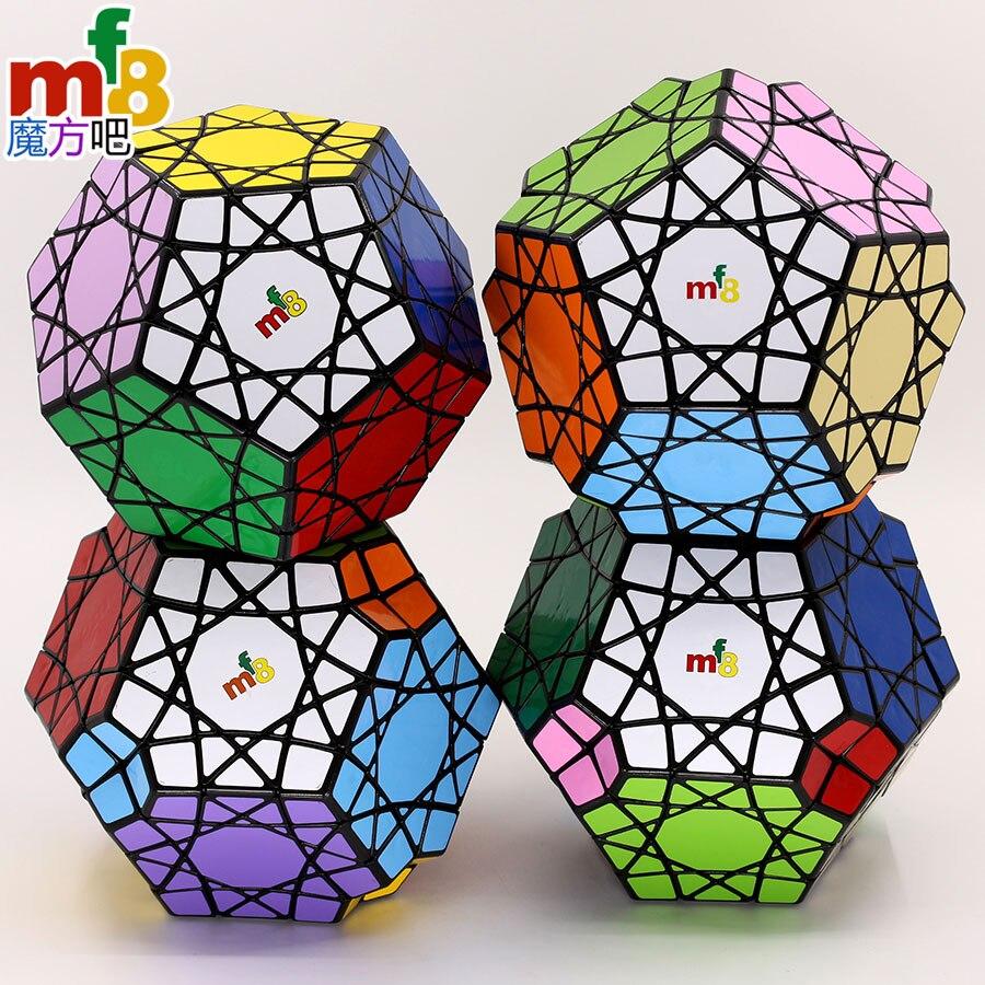 Magic Cube Puzzle Mf8 12 Axis Cube Sky Seal Minx SunMinx SkyEyeMinx Sky Dipper Minx  Megaminxsed Strange Shape Cube Twist Toys