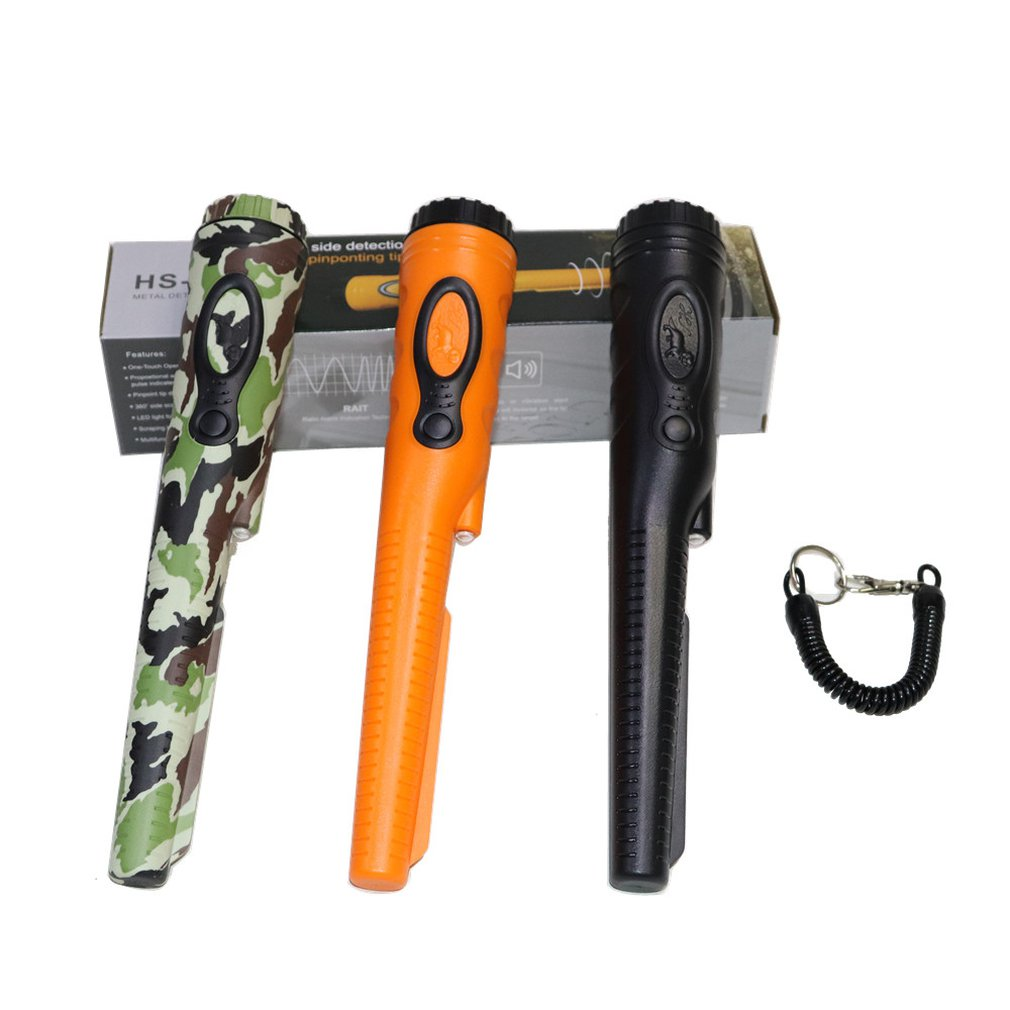 New Waterproof High Sensitivity Handheld Detector Pointing Metal Detector Super Treasure Hunt Seeker Hunting For Coins Gold