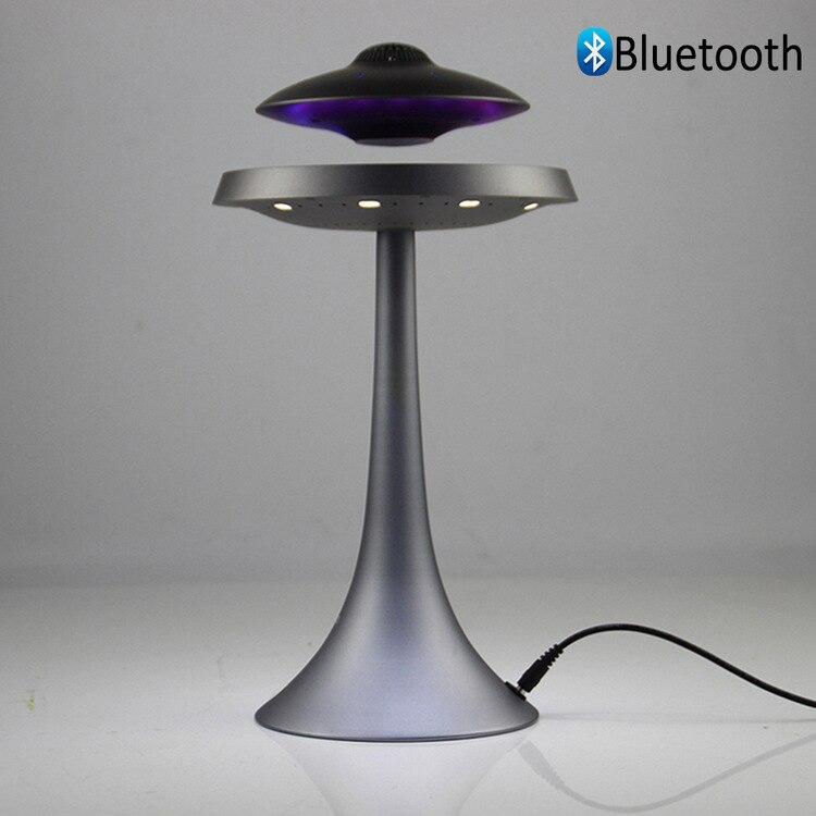 Floating speaker lamp