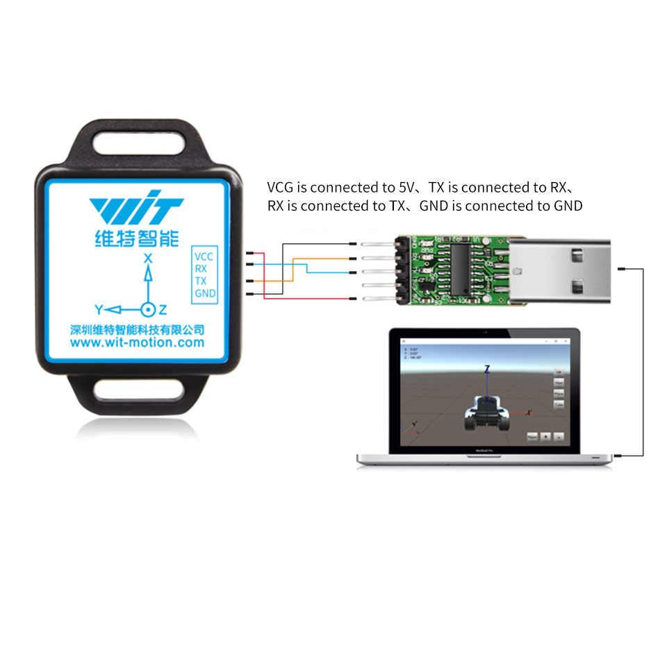 Test de conduite capteur Gyroscope Test routier sujet trois Module Mpu6050 dédié