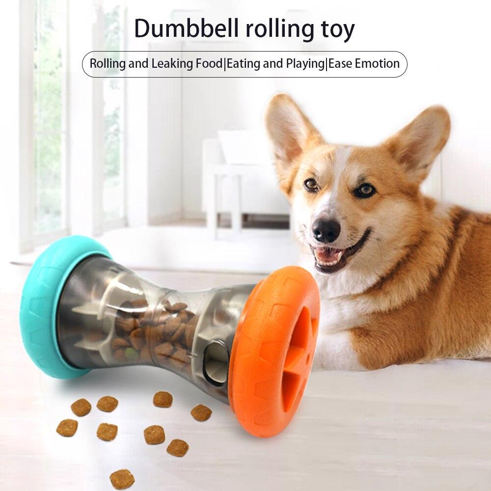 Juguetes para mastique, haltere resiste a la mordida de perro, limpieza dental, entrenamiento mastique 1 uds