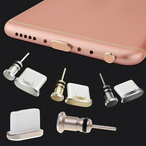 Anti Dust Plug Set USB Type-C Port 3.5mm Earphones Jack Plug For Huawei P10 XXUC