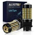 Светодиодный фонарь AUXITO T25  3157  3156  3057  3056  P27/7 Вт  54 светодиодный  4014 SMD  светодиодный фонарь  задние сигналы стояночного тормоза  12 В  янтарный  ...