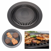 New Arrival Outdoor Barbecue Nonstick Round Grills Carbon Steel Barbecue Accessories Tools