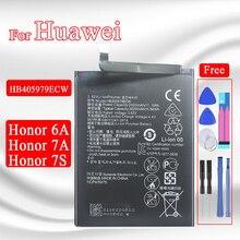 بطارية بديلة 3020 مللي أمبير في الساعة لهاتف Huawei HB405979ECW ، بطارية بديلة عالية الجودة قابلة لإعادة الشحن لهاتف Honor 7A و Honor 6A