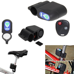 Anti theft Bike Lock 110dB Bicycle Alarm bicycle lock Cycling Security Lock Wireless Remote Control Vibration Alarm|Anti-theft Lock|   -