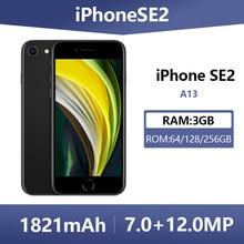 Entsperrt Verwendet Original Apple iPhone SE 2 Smartphones 4,7 Zoll 4G LTE A13 64/128/256GB ROM Hexa Core Handys