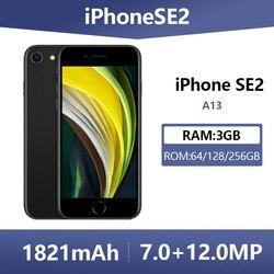 Unlocked Used Original Apple iPhone SE 2 Smartphones 4.7 Inch 4G LTE A13 64/128/256GB ROM Hexa Core Cellphones