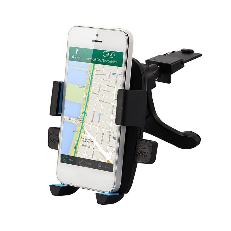 360 Degree Rotation Car Phone Holder Ventilation Bracket Suitable For 4-6.3 Inch Mobile Phones And GPS Devices