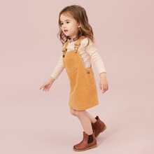 Little maven kids brand clothes 2019 autumn baby girls clothes Cotton pockets sundress girl sleeveless dresses(China)