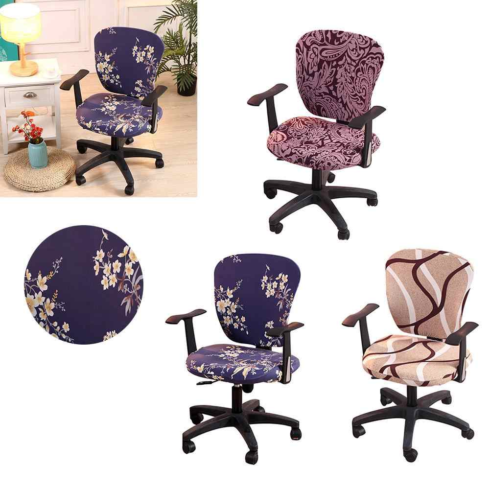 Spandex Office Computer Chair Cover Stretchable Rotate Swivel decorative  chair covers