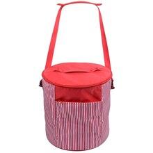 Регулируемая портативная карманная скороварка, нейлоновая дорожная кухонная Пылезащитная сумка, аксессуары для кемпинга, сумка для переноски 6 Quart