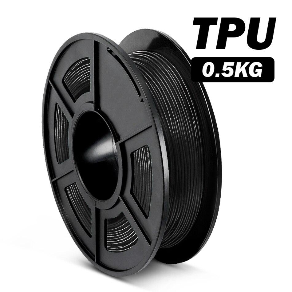 Tpu filamento flexível impressora 3d melhor vendedor sumlibação tpu filamento flexível material não-tóxico material de impressão brinquedo