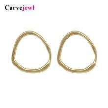 Carvejewl серьги гвоздики нестандартные круглые в виде молотков