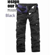 Pants Men Streetwear Vintage Cargo Pants Loose Korean Fashion Men 2020 Black Clothes 2020 Fall Street Wear Camouflage