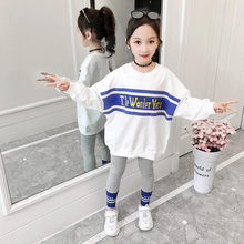 Get more info on the Spring Autumn Teenager Girls Letter Print Sweatshirts Casual Long Sleeve Top Cotton + Legging Pants 2Pcs Pullover Kids Clothes