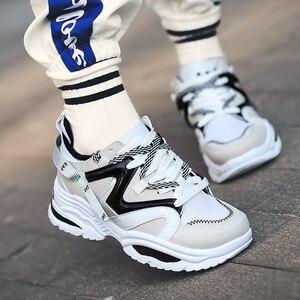 Image 5 - 2019 Harajuku סתיו בציר סניקרס גברים לנשימה רשת נעליים יומיומיות גברים נוח אופנה Tenis Masculino Adulto סניקרס