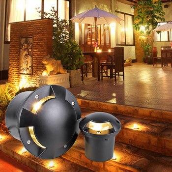 Underground Lights 12V 3W Deck Buried LED Floor Lamp For Garden Recessed Path Ground Inground Waterproof Outdoor Lighting