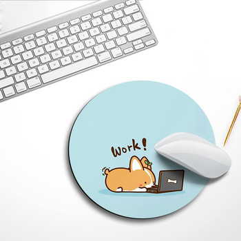 1pcs Cute Mouse Pad Small Round