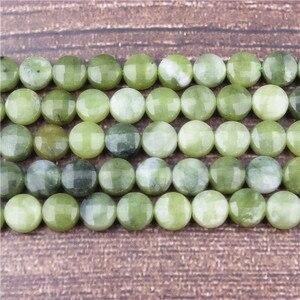Lanli модные украшения натуральный драгоценный камень добавить нефрит торт интервал свободные бусины 6x6 мм DIY браслет ожерелье и аксессуары