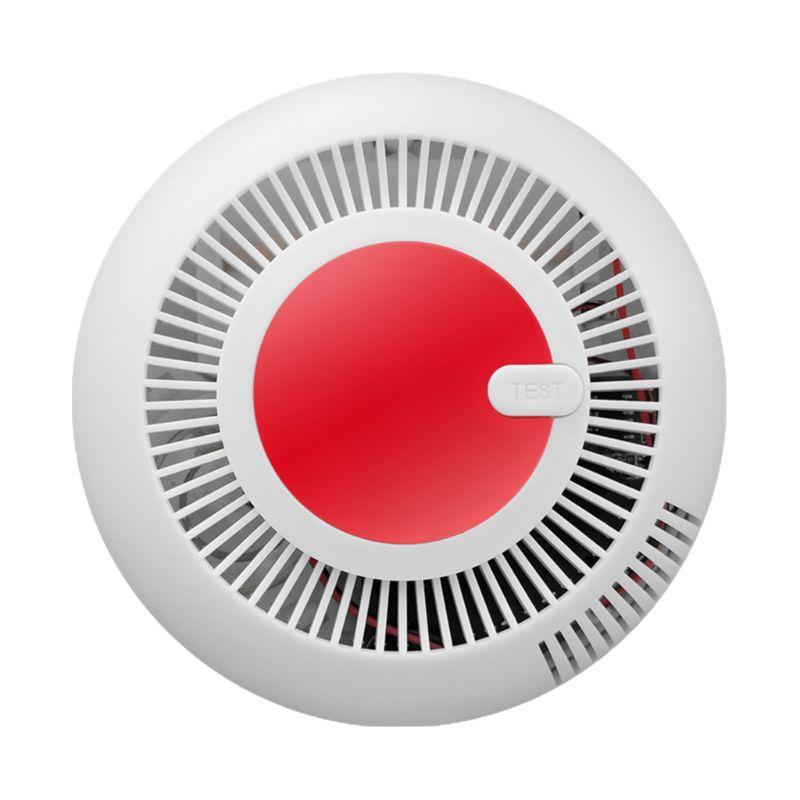 Independent Smoke Fire Alarm Home Security Wireless Smoke Detector Alarm