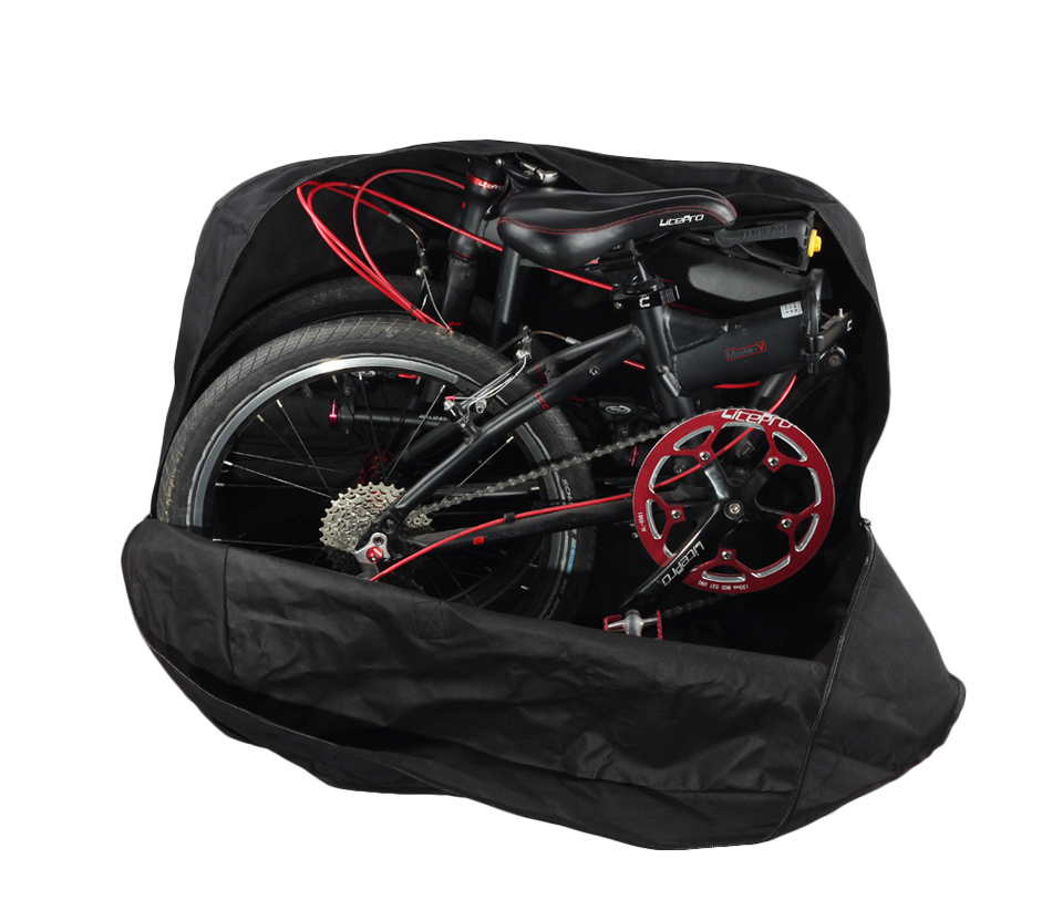 Excellent Rhinowalk 14 inch 20 inch Folding Bike Bag Loading Vehicle Carrying Bag Pouch Packed Car Thickened Portable Bicycle Pack 28