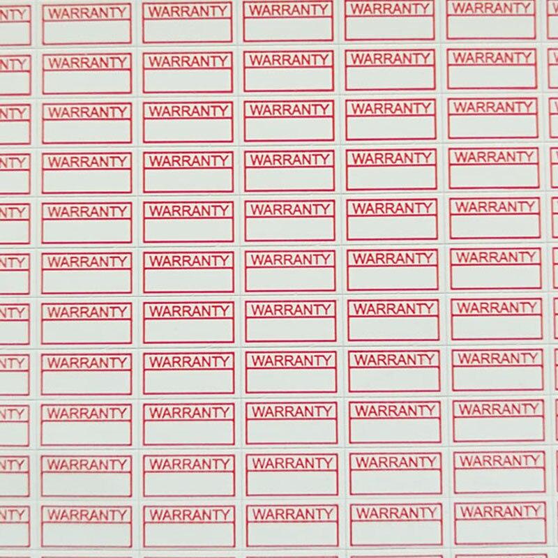 500 шт. 10*5 мм Универсальная наклейка разрушительной бумаги