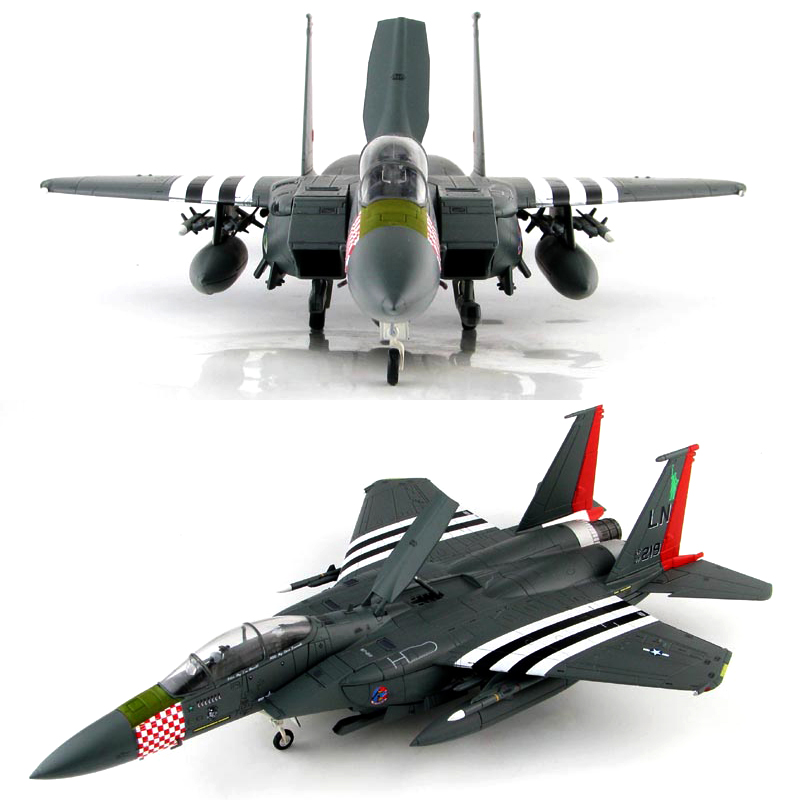 Fine  A4518 1/72  US Air Force F-15E Fighter  D-Day Commemorative Painting  Alloy Collection Model