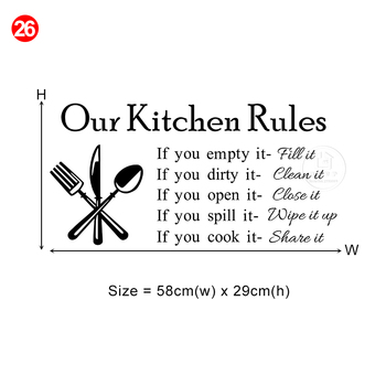 28 styles Coffee Wall Stickers Vinyl Wall Decals Kitchen Stickers English Quote Home Decorative Stickers PVC Dining Room Shop 21
