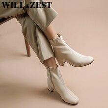 Kampf Stiefel für Frauen Weiß Winter Pelz Leder Kurze Booties Frau High Heels Schnee Frauen Nette Designer Marke Luxus Schuhe 2020