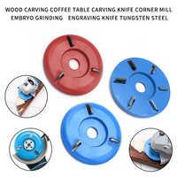 3/6 zähne 90mm Durchmesser 16mm Bohrung Power Holz Carving Schneiden Disc Fräsen Zubehör Winkel Grinder Werkzeug Polieren Zubehör