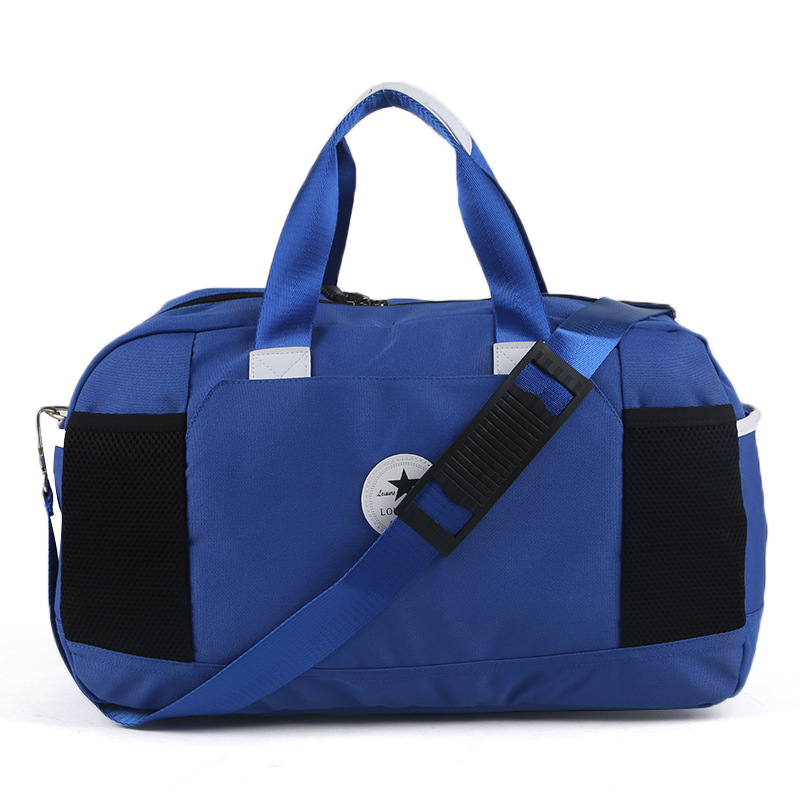Manufacturers Wholesale Korean-style Light Gym Bag Hand Cloth Bag Men And Women Shoulder Travel Bag Large Capacity Bag Korean-st