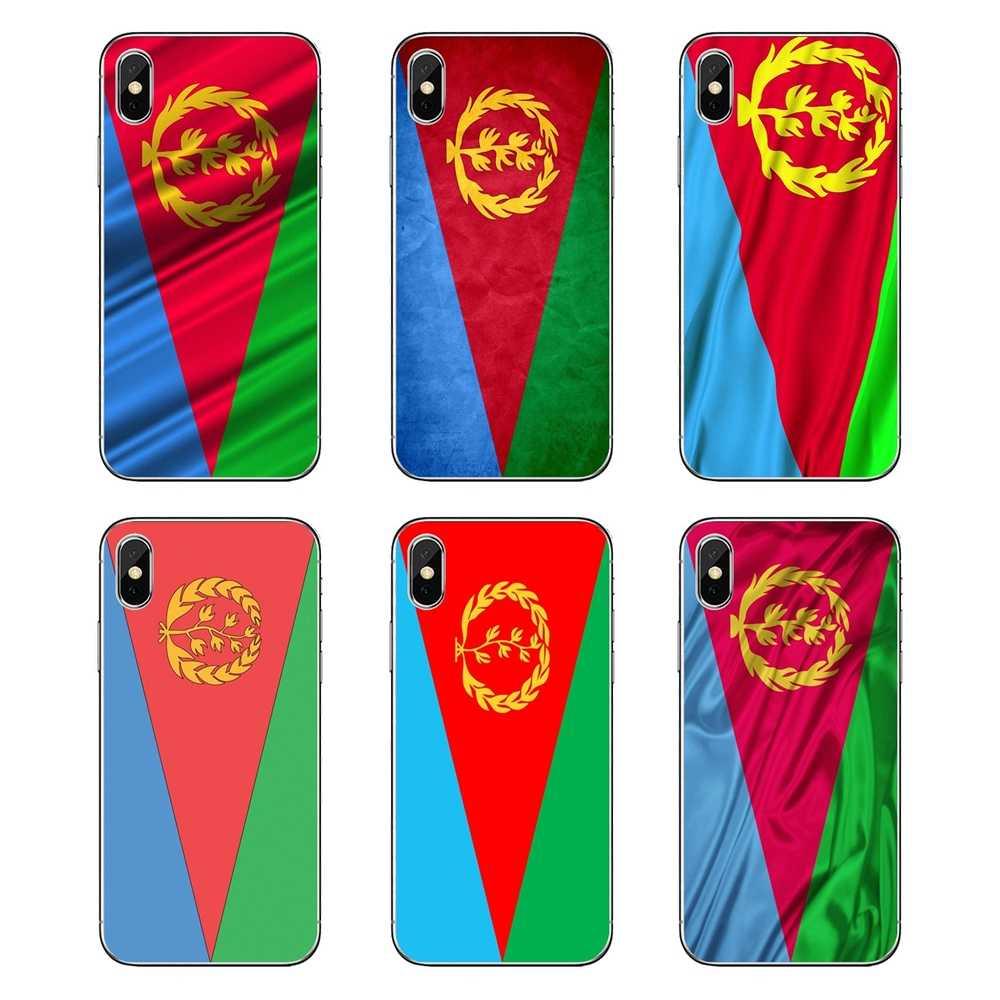 Eritrea Flag world บิน natioal แบนเนอร์สำหรับ Huawei Honor 8 8C 8X9 10 7A 7C Mate 10 20 lite Pro P Smart Plus โทรศัพท์มือถือ