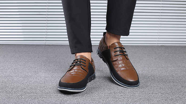 H07ff6957e85241b78c61a40a373775e2b Design New Genuine Leather Loafers Men Moccasin Fashion Sneakers Flat Causal Men Shoes Adult Male Footwear Boat Shoes