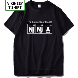 The Element Of Stealth Ninja Chemistry Nerd Original Inspired Design 100% Cotton Soft Breathable Tshirt EU Size