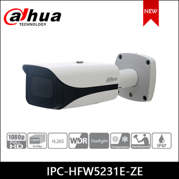 Dahua IP camera 2MP IPC-HFW5231E-ZE security camera WDR IR Bullet Network Camera SUPPORT POE ahua ipc eb5531 5mp wdr panorama 180 degree built in mic with sd card slot poe network fisheye ip camera replace ipc eb5500