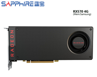 USED,Sapphire RX 570 4G graphics cards 7000MHz GDDR5 256bits HDMI+DP*3 PCI X16