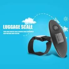 Mini balança digital portátil para viagem, balança digital portátil para viagem com display lcd, 100g/40kg, bagagem, bolsa de viagem bala de peso