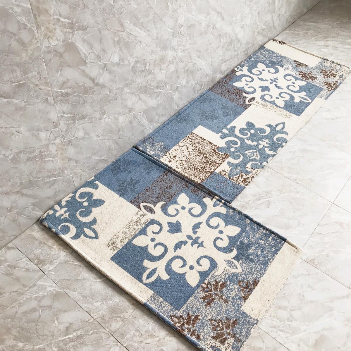 2019 Polyester mode nordique vent tapis de sol marchandises anti-dérapant porte tapis cuisine tapis porte chaussure tapis cuisine tapis
