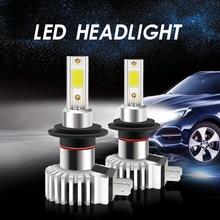 Мини-лампы для автомобильных фар, H4, H7, H1, H3, 9005, 9006, H27, 881, HB3, HB4