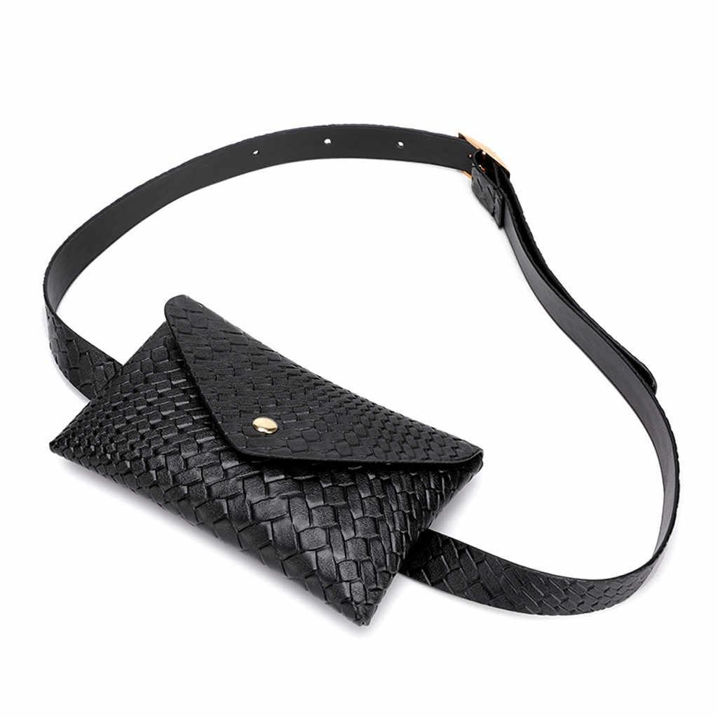 Saco de cintura do plutônio saco de cinto feminino hasp esportes ao ar livre saco de cintura saco de saco de cintura saco de viagem