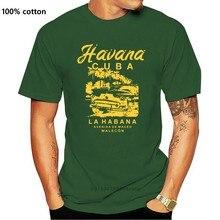 Camiseta divertida para hombre y mujer, camiseta De moda Havana, Cuba, La Habana, Avenida De Maceo, malecón