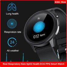 Smart Watch Men Women Temperature Measurement IP68 Waterproof PPG+ECG AI medical CareHeart Rate SpO2 Respiratory Rate Smartwatch