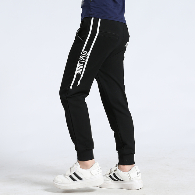 boys track pants 2020 autumn knitted soft loose pants for boys 4-8 8-12 years children pantalones baby trousers 5