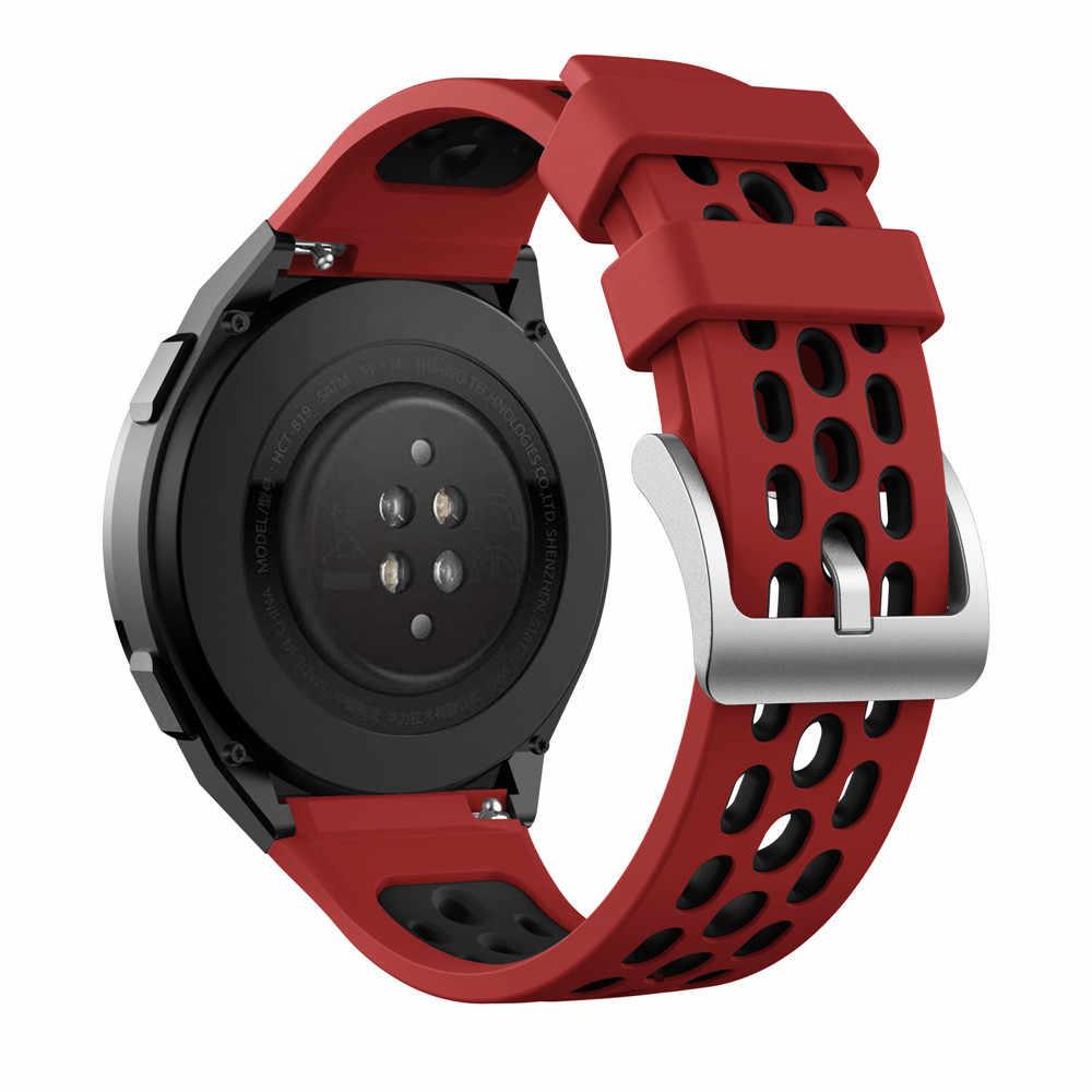 سوار ساعة سيليكون أصلي لساعة Huawei Watch GT 2e GT 2 E ، سوار بديل ، سوار 22 مللي متر