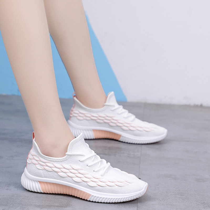 Sports Shoes Women Sneakers Fashion Spring Summer Light Breathable Mesh Casual Shoes Ladies Flats Feminino Running Shoes