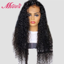 Silk Base Lace Front Human Hair Wigs With Baby Hair Brazilian Remy Curly Human Hair Wigs For Women Silk Top Lace Wig Pre Plucked(China)